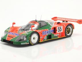 Mazda 787B #55 winner 24h LeMans 1991 Weidler, Herbert, Gachot 1:18 Spark
