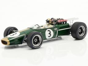 Jack Brabham Brabham BT24 #3 Winner French GP formula 1 1967 1:18 Spark