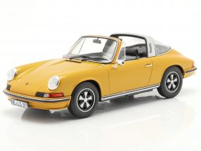 Porsche 911 S Targa year 1973 gold metallic 1:18 Norev