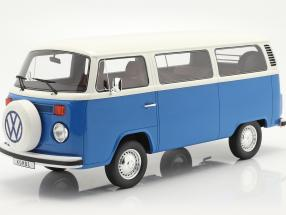 Volkswagen VW Bus Type 2 year 1978 blue / white 1:12 OttOmobile