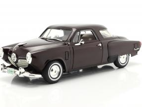 Studebaker Champion year 1951 black cherry 1:18 GMP