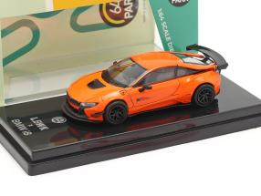 BMW i8 Liberty Walk year 2018 orange 1:64 Paragon Models