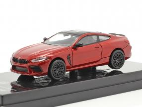 BMW M8 Coupe year 2018 motegi red 1:64 Paragon Models