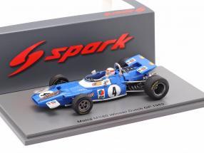 J. Stewart Matra MS80 #4 Winner Dutch GP formula 1 World Champion 1969 1:43 Spark