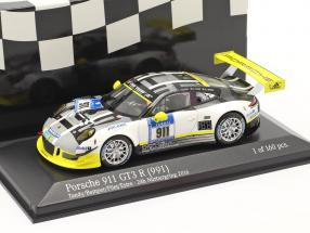 Porsche 911 GT3 R #911 24h Nürburgring 2016 Manthey Racing 1:43 Minichamps