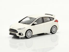 Ford Focus RS year 2018 white 1:87 Minichamps