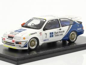 Ford Sierra RS500 Cosworth #7 2nd Macau Guia Race 1989 Rouse 1:43 Spark