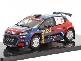 Citroen C3 R5 #56 Rallye Catalunya 2019 Camilli, Veillas 1:43 Ixo