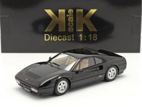Ferrari 328 GTB year 1985 black 1:18 KK-Scale