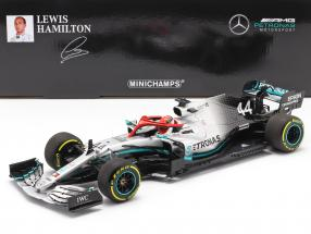 L. Hamilton Mercedes-AMG F1 W10 #44 Monaco GP World Champion F1 2019 1:18 Minichamps