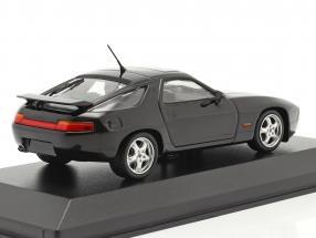 Porsche 928 GTS year 1991 black 1:43 Minichamps
