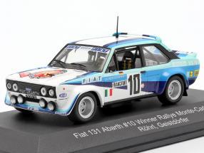 Fiat 131 Abarth #10 Winner Rallye Monte Carlo 1980 Röhrl, Geistdörfer 1:43 CMR