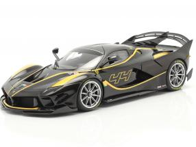 Ferrari FXX-K Evo #44 year 2017 black / yellow 1:18 BBR