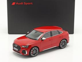 Audi RS Q3 Sportback (F3) year 2020 tango red 1:18 Minichamps