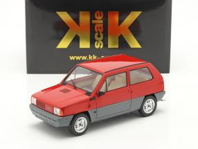 Fiat Panda 30 MK I year 1980 red 1:18 KK-Scale
