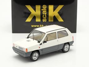 Fiat Panda 45 MK I year 1980 white 1:18 KK-Scale