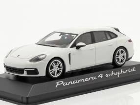 Porsche Panamera 4 E-Hybrid white 1:43 Minichamps