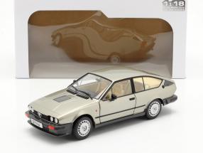 Alfa Romeo GTV6 year 1984 silver beige metallic 1:18 Solido