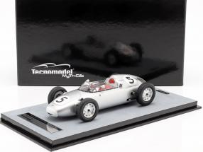 Hans Herrmann Porsche 718/2 #5 2nd Solitude GP formula 2 1960 1:18 Tecnomodel