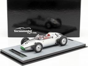 Graham Hill Porsche 718/2 #6 4th Solitude GP formula 2 1960 1:18 Tecnomodel