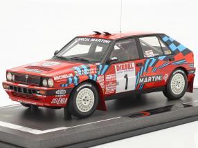 Lancia Delta HF Integrale #1 winner Rallye SanRemo 1989 Biasion, Siviero 1:18 BBR