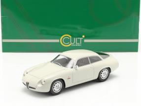 Alfa Romeo Giulietta Sprint Zagato Coda Tronca 1961 white 1:18 Cult Scale