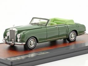 Rolls Royce Silver Cloud Mulliner 4-Door Open Cabriolet 1962 green 1:43 Matrix