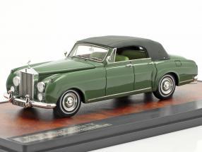 Rolls Royce Silver Cloud Mulliner 4-Door Closed Cabriolet 1962 green 1:43 Matrix