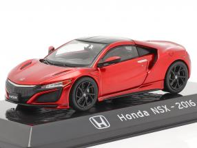 Honda NSX year 2016 red metallic 1:43 Altaya