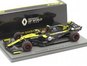 Esteban Ocon Renault R.S.20 #31 8th Austrian GP formula 1 2020 1:43 Spark