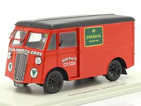 Morris PV Support Truck Elva Engineering year 1947 red 1:43 Spark