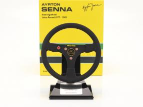 Ayrton Senna Lotus 97T #12 formula 1 1985 steering wheel 1:2 Minichamps