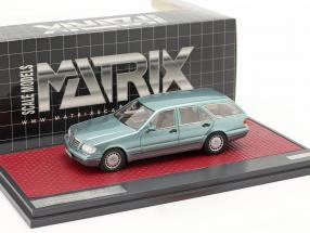 Mercedes-Benz S 500T (S140) Binz / Cadform prototype 1995 light blue metallic 1:43 Matrix