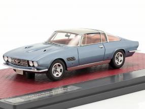 Ford Mustang Bertone Automobile Quarterly lights open 1965 blue metallic 1:43 Matrix
