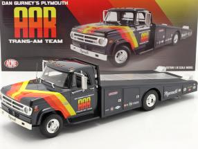 Dodge D300 Ramp Truck 1970 AAR Trans Am Team blue 1:18 GMP