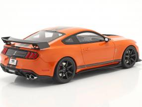 Ford Mustang Shelby GT500 year 2020 twister orange / black  GT-Spirit