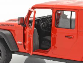 Jeep Gladiator Rubicon Pick-Up year 2020 orange red