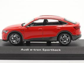 Audi e-tron Sportback Baujahr 2020 catalunya rot