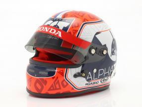 Pierre Gasly #10 Scuderia Alpha Tauri Honda formula 1 2020 helmet  Arai