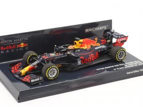 M. Verstappen Red Bull Racing RB16 #33 3rd Steiermark GP F1 2020 1:43 Minichamps