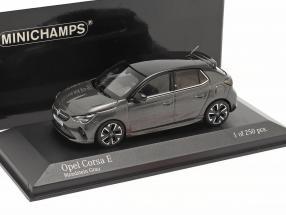 Opel Corsa E year 2019 moonstone grey metallic 1:43 Minichamps