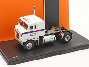 Kenworth Bullnose Truck year 1950 white / blue 1:43 Ixo