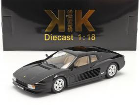 Ferrari Testarossa Construction year 1986 black 1:18 KK-Scale