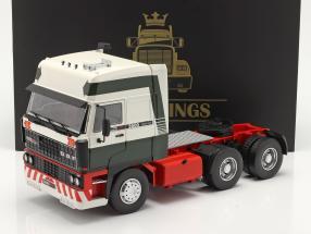 DAF 3600 SpaceCab Truck year 1986 dark green / white / red 1:18 Road Kings
