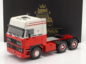 DAF 3600 SpaceCab Sattelzugmaschine 1986 weiß / rot