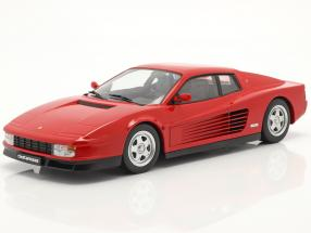 Ferrari Testarossa year 1986 red 1:18 KK-Scale