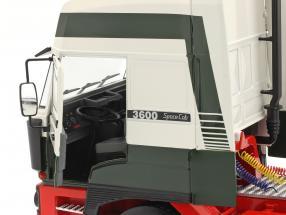 DAF 3600 SpaceCab Sattelzugmaschine 1986 dunkelgrün / weiß / rot