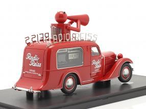 Steyr XX Verkaufswagen Radio Reiss 1929 rot