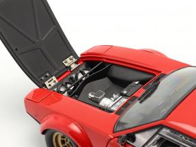 De Tomaso Pantera GT4 year 1972 red / black 1:18 Kyosho / 2nd choice