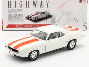 Chevrolet Camaro Z10 Pace Car Coupe 1969 white / orange 1:18 Highway61